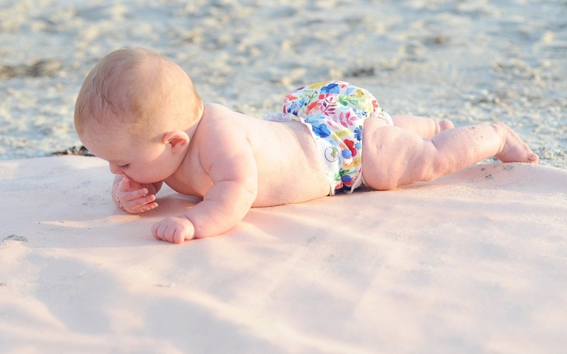 top babies on the beach