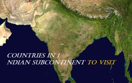 countries in Indian subcontinent
