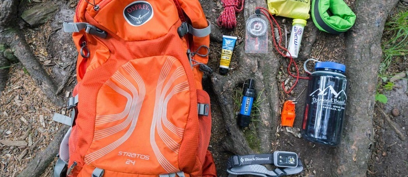Camping and hiking checklist