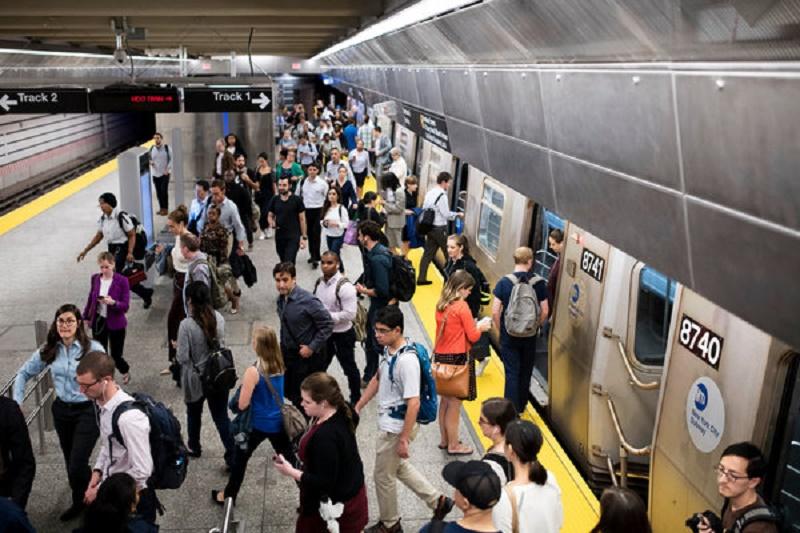New York metro circuit 125 St