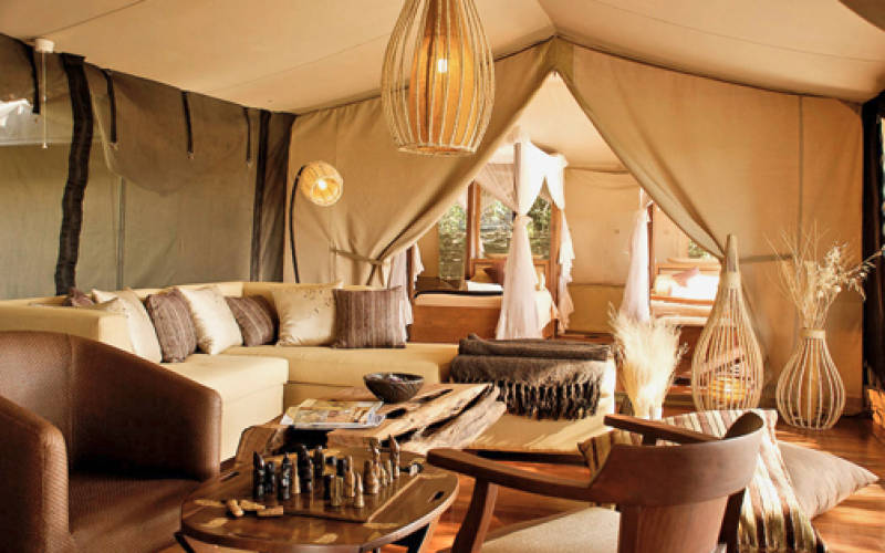 African luxury safari lodges around the world