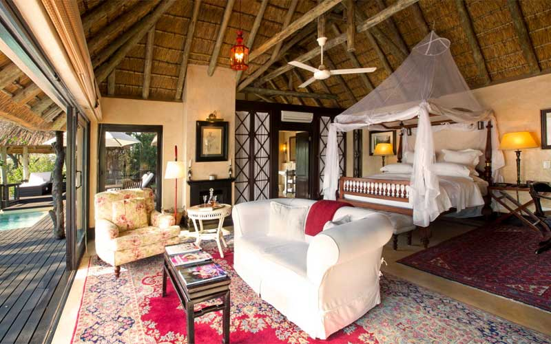 best African luxury safari lodges