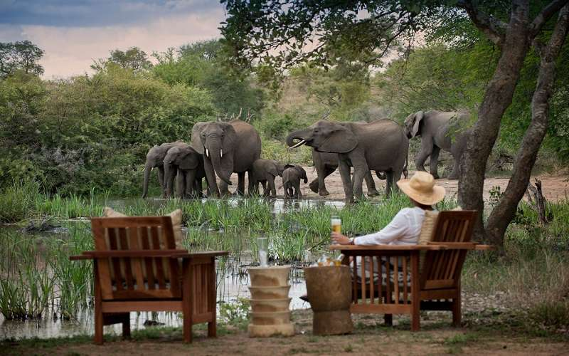 a African luxury safari lodges