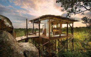 African luxury safari lodges