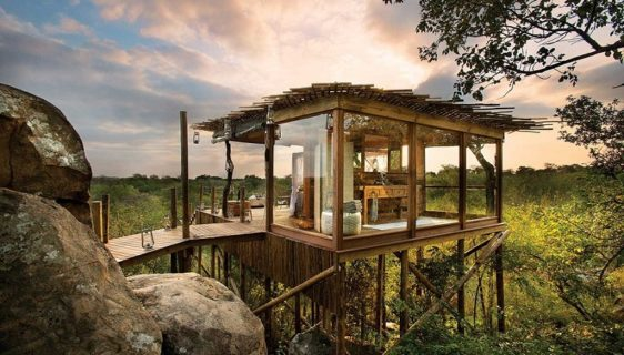 African luxury safari lodges