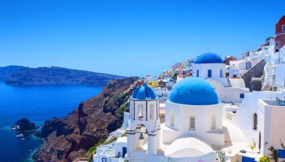 Greece in winter