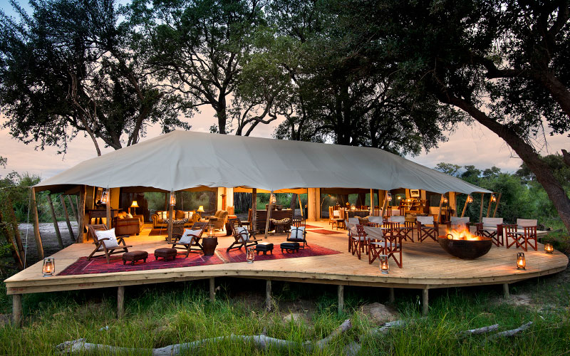 the African luxury safari lodges