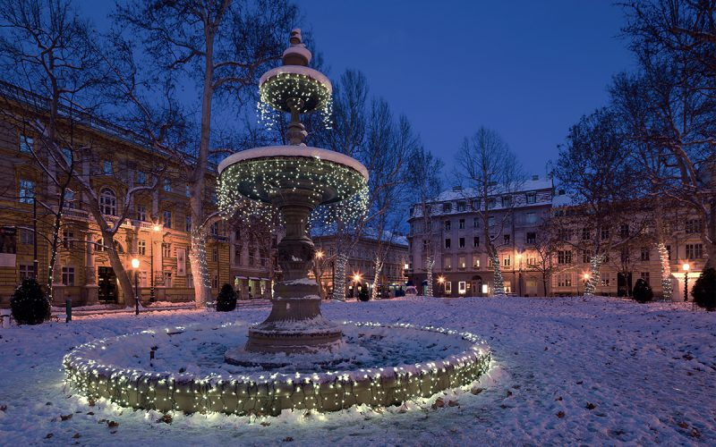 the winter holiday in Europe