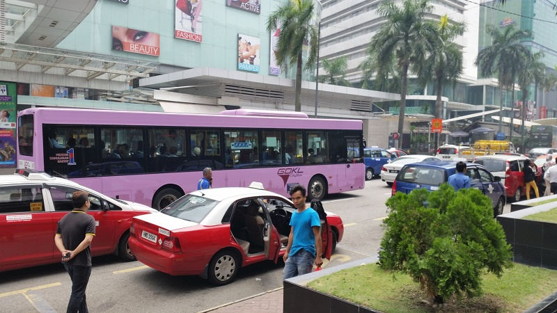 GO KL buses