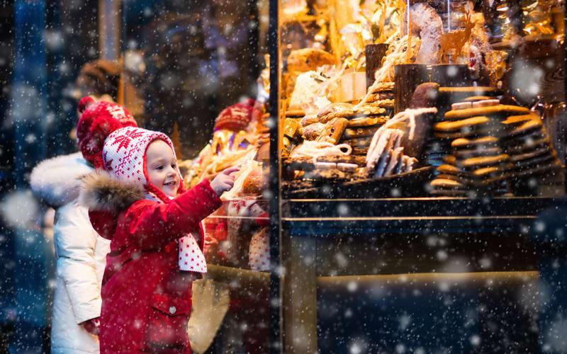 enjoy Christmas with children