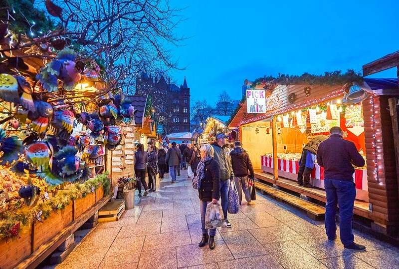 new Christmas market