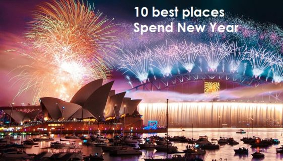 10 best places to spend new year