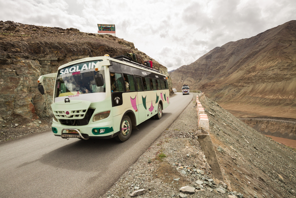 Ladakh by Bus