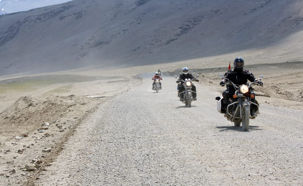 Ladakh by Motorcycles