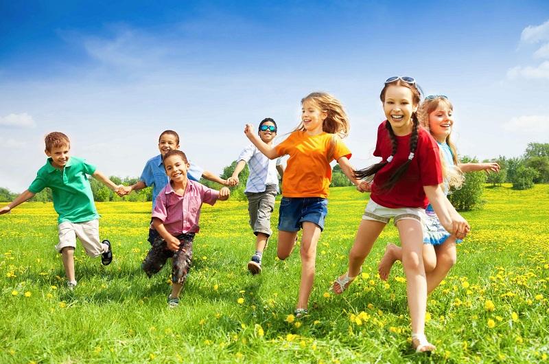 Summer holidays in 2019 for school children