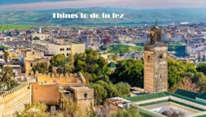 Things to do in fez