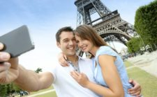 Romantic honeymoon in Paris