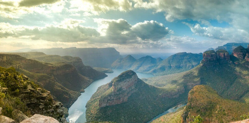 Blyde River Canyon and Bourke's