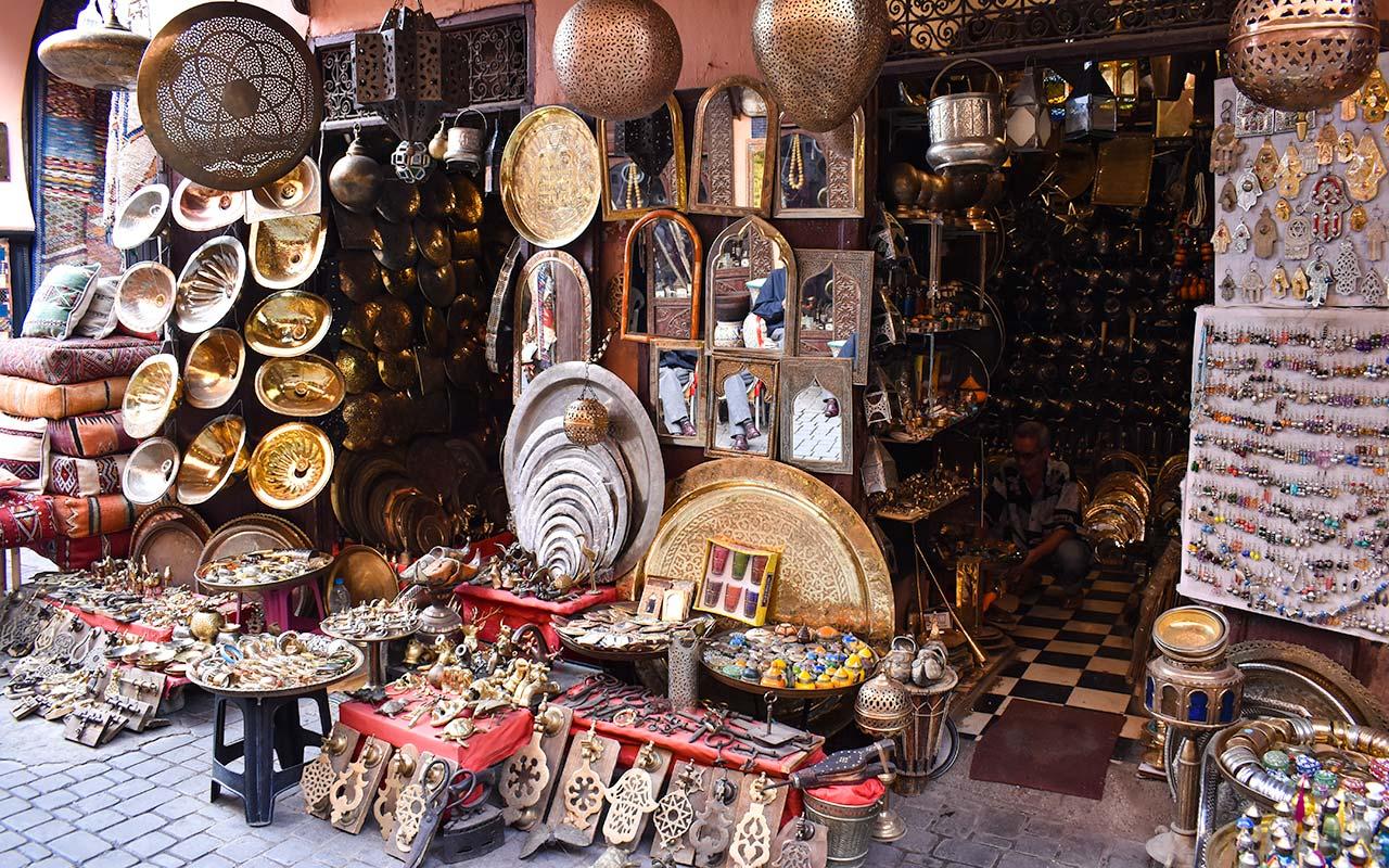 Artisan shops in Chefchaouen