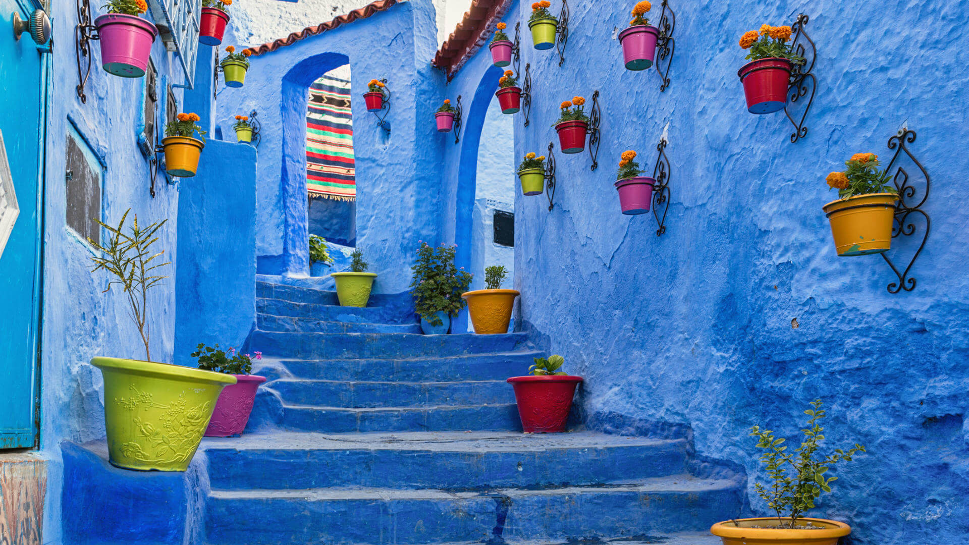 Chilabas in Chefchaouen