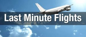 cheap flights last minute