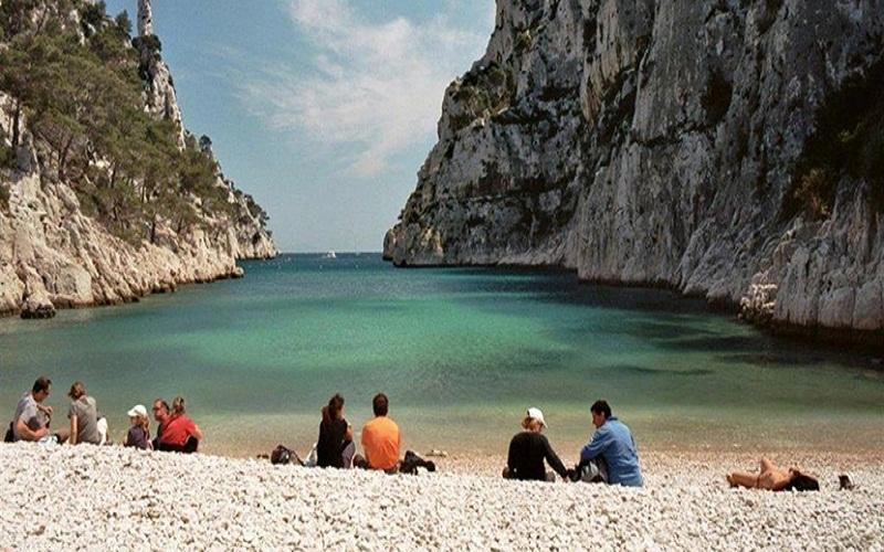 the beaches of Marseille