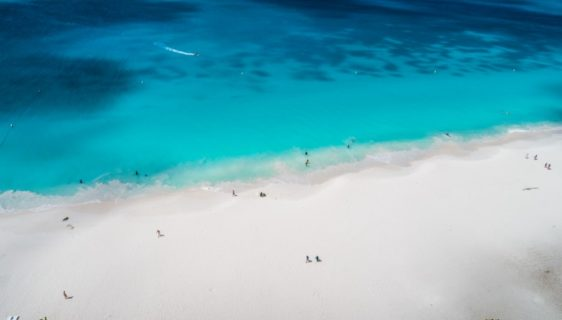 Aruba honeymoon: a journey with feet in the sand