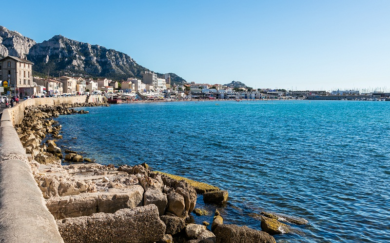 discover beaches of Marseille