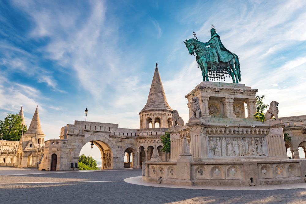 Budapest and monuments