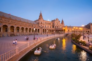 Destinations of Europe: honeymoon in Spain