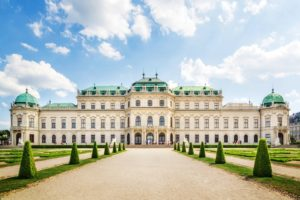 Honeymoon in Vienna for a modern fairy tale of love