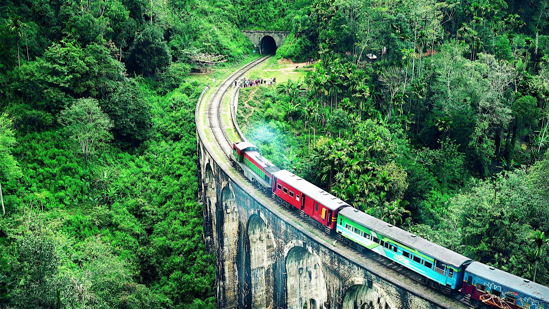 Crossing the skies of Sri Lanka
