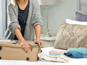 Tips from the bridal stylist for honeymoon suitcase