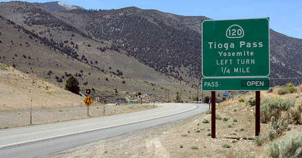 Route of Tioga Road