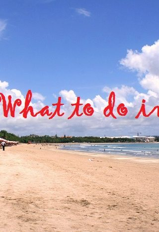 What to do in Kuta