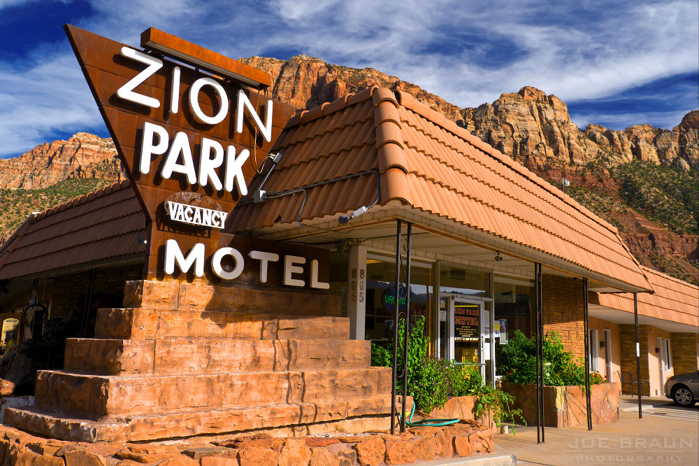 Hotels in the Zion National Park