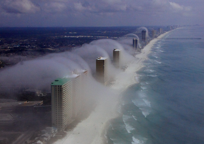 tsunami de aire